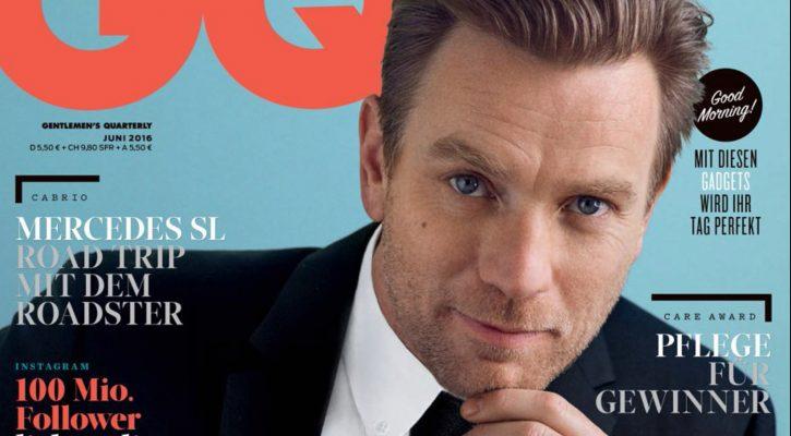 Ewan McGregor covers GQ Germany June