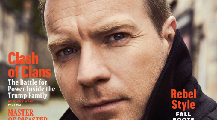 Ewan McGregor covers Esquire US October