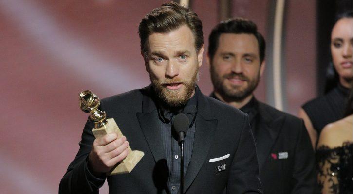 Ewan McGregor wins his first Golden Globe