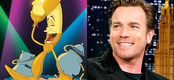 Ewan McGregor to play Lumiere in Beauty and the Beast