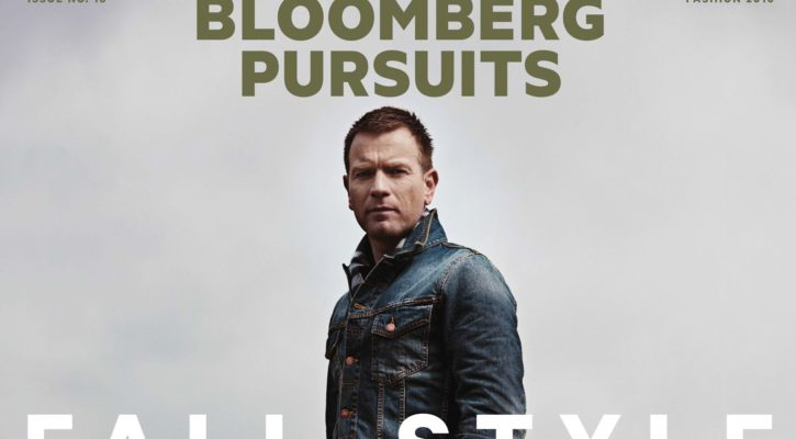 Ewan McGregor covers Bloomberg Pursuits September issue