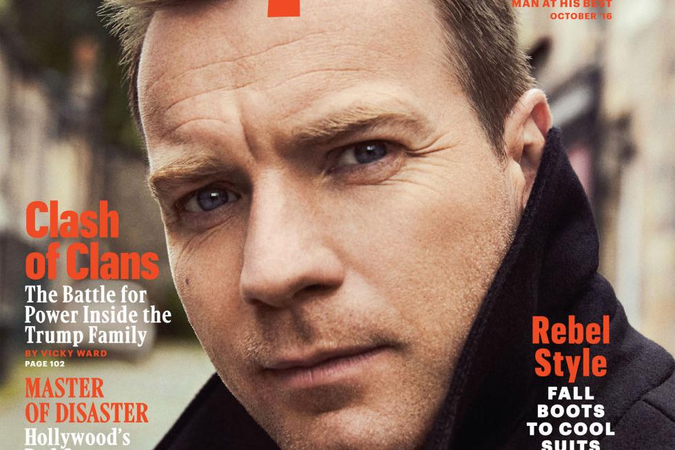 Ewan McGregor covers Esquire US October