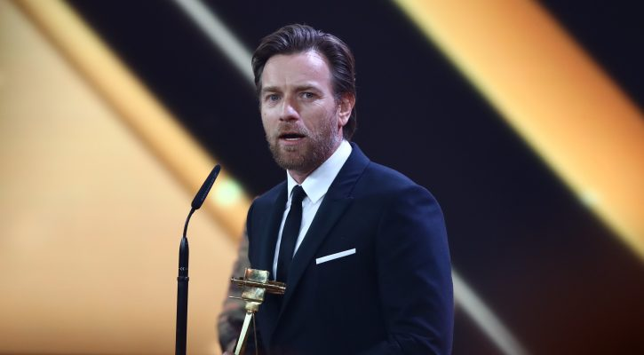Ewan McGregor won 2018 Golden Camera Awards