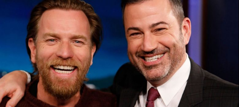 Ewan on Jimmy Kimmel Live (Video + Photos)