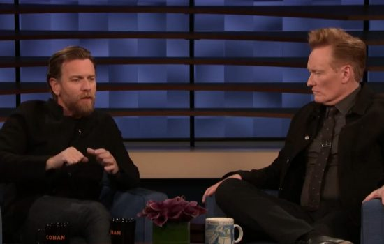 Ewan McGregor on Conan Show (Videos)
