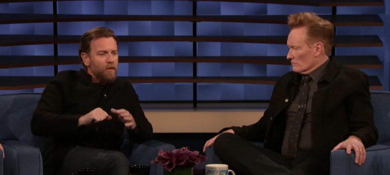 Ewan McGregor on Conan Show (Videos)